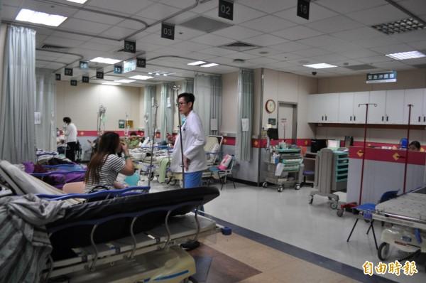 長庚醫院爆發急診室離職潮,衛福部表示,長庚董事會需1至2週時間來處理。(資料照,記者周敏鴻攝)