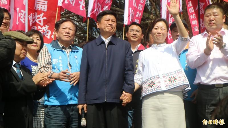 前花蓮縣長傅崐萁,已經成為國民黨中央的燙手山芋。(資料照)