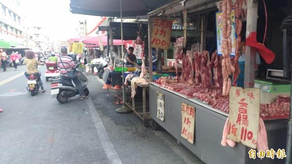 台灣將進口英國豬肉。示意圖(資料照)