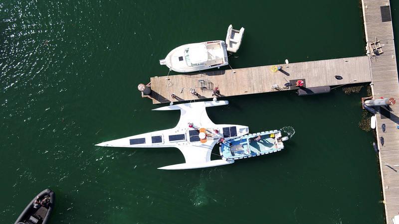 IBM與非營利海洋研究組織Promare打造由AI自動駕駛的五月花號(Mayflower Autonomous Ship,簡稱MAS)(IBM 授權)