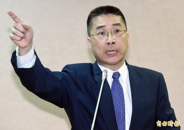 民進黨立委徐國勇質疑,就是馬英九把WHA邀請函的內容告訴蔡正元的。(資料照,記者廖振輝攝)