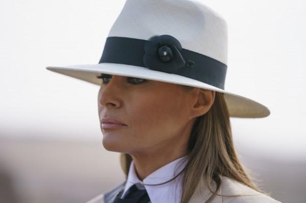 美國第一夫人梅蘭妮亞(Melania Trump)認為,她是全世界最飽受霸凌的人。(美聯社)