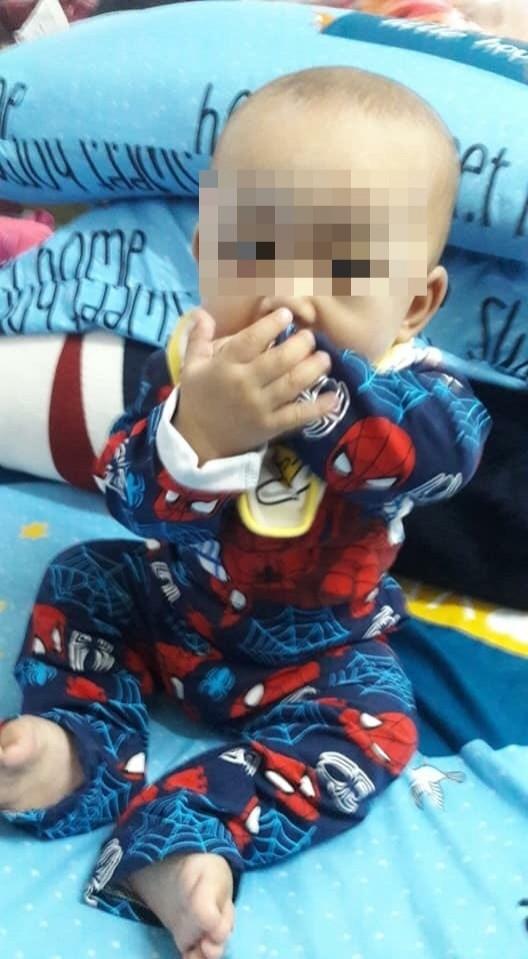 遭虐的男嬰不幸傷重不治。(記者曾健銘翻攝)