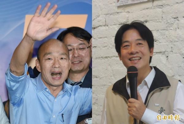 比較韓國瑜和賴清德的主張