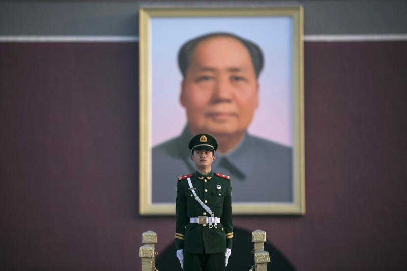 中媒強調,中國有在關注台灣2020大選每個候選人的一言一行,若有口無遮攔者,將會被紀錄在案。(彭博)