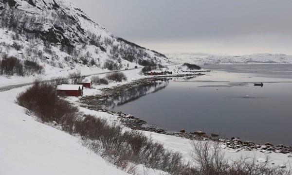 今年發現有敘利亞難民長途跋涉到俄羅斯邊境和挪威的北極邊境交界,藉此進入歐洲。(圖擷取自英國衛報)