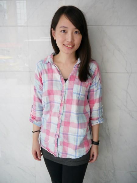 游淑惠向記者澄清,該防蚊貼片可能是支持者做的,因為連陣營官方版文宣品都有一定的logo。(資料照,記者盧姮倩攝)