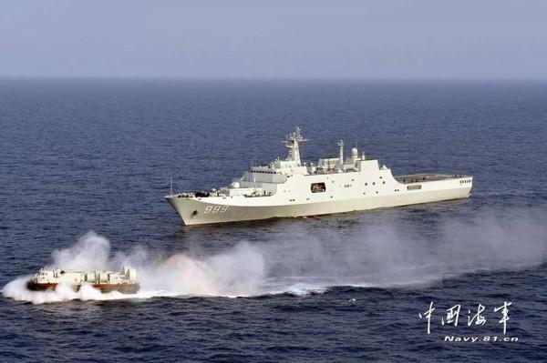 中國福建省公安邊防總隊海警第三支隊預計在7月30日7時至17時,在台灣海峽相關水域開展海上火砲實彈射擊訓練。(圖截取自中國海軍網)
