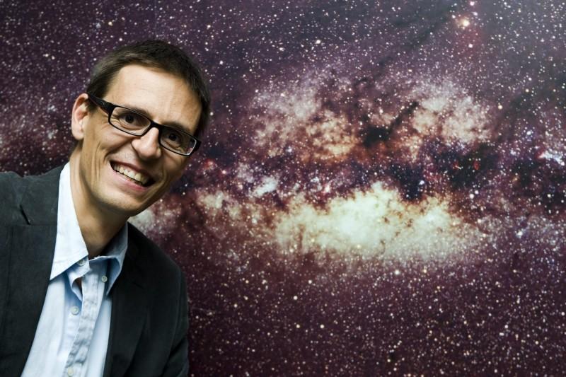 瑞士天文學家奎洛茲。(歐新社)