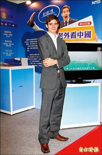 《老外看中國》主持人郝毅博岳母盛曉雲上週被中國警方逮捕。(郝毅博提供、資料照,記者胡舜翔攝)