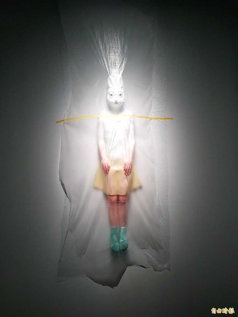 Joyce Ho, Semi-Transparent One (2013). Photo: Noah Buchan, Taipei Times
