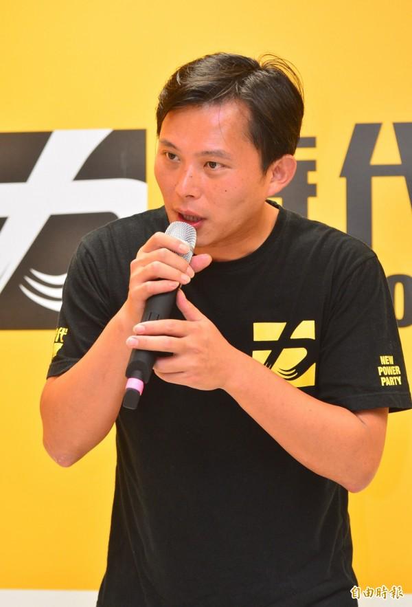 黃國昌除了感謝行政院長林全的具體行動,也感謝廢核平台的朋友、朝野立委。(資料照,記者王藝菘攝)