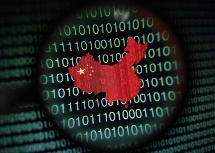 中國駭客相當猖獗。(情境圖,路透)