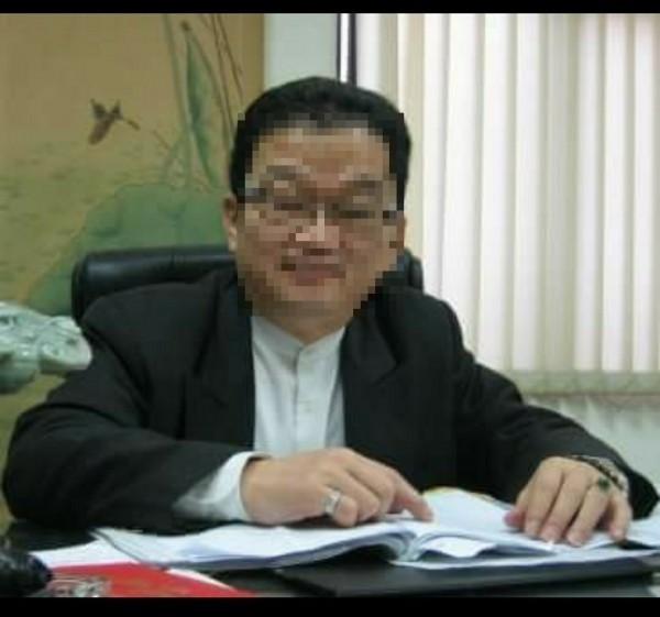 桃園市60歲律師巨克安在法庭外遭毆,急救3天後不治死亡。(擷自臉書)