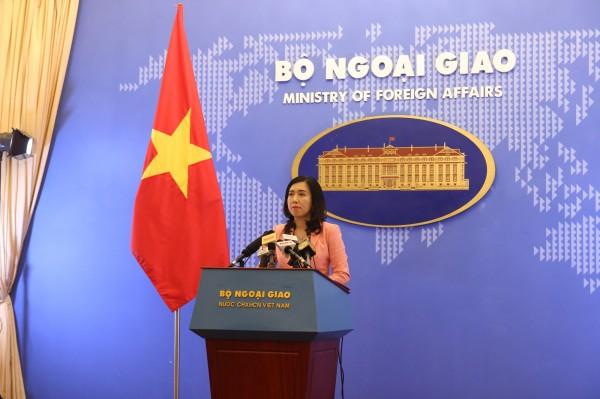 越南抗議中國在南沙設氣象觀測站