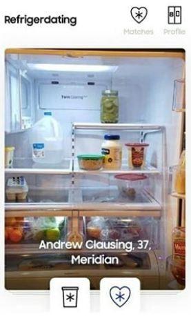 用戶可以透過瀏覽冰箱照片,來選擇對象。(圖擷自IG)