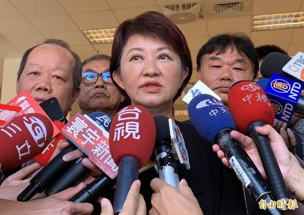 盧秀燕今天重申台中市民看花博維持免費,「這是市長職權,AIPH無權干涉。」(資料照)