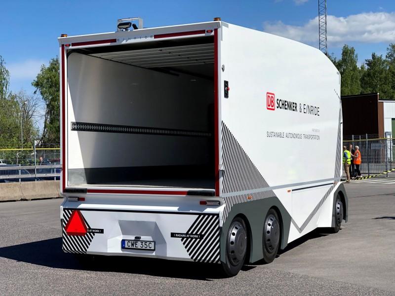 「T-Pod」滿載時重達26噸,沒有駕駛艙。(路透)
