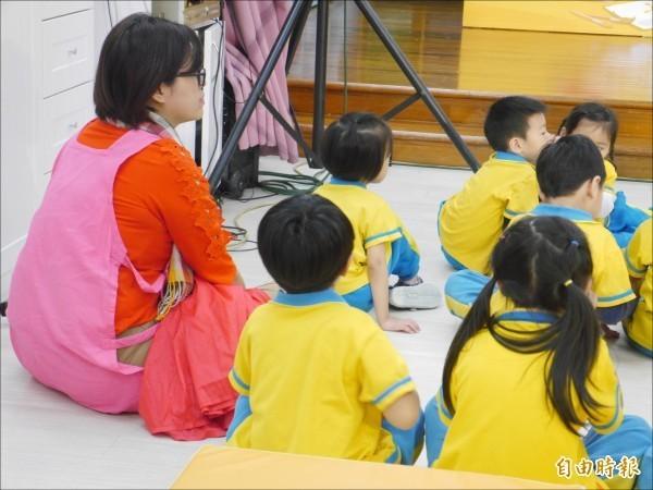 行政院擴大發放育兒津貼,搶救少子化危機。(記者林惠琴攝)