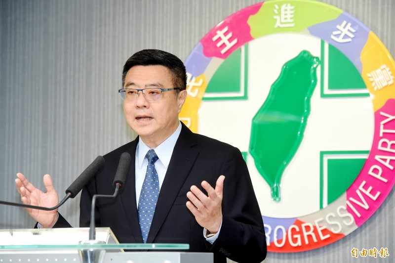 卓榮泰今天在電視節目上爆料,民進黨與時代力量雙方的秘書長已經談過。(資料照)