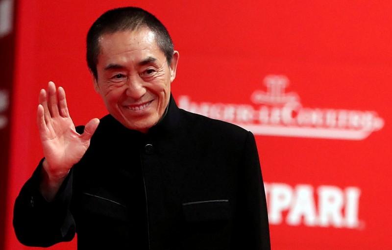 中國知名導演張藝謀(見圖)其執導的作品《一秒鐘》疑似因為內容觸動中共當局的敏感神經,突然宣布退出第69屆柏林影展,令人扼腕。(路透)
