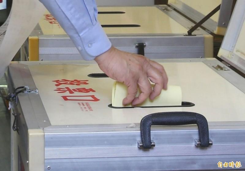新北市三重立委補選投票,選委會預估投票率可能近4成。示意圖。(資料照)