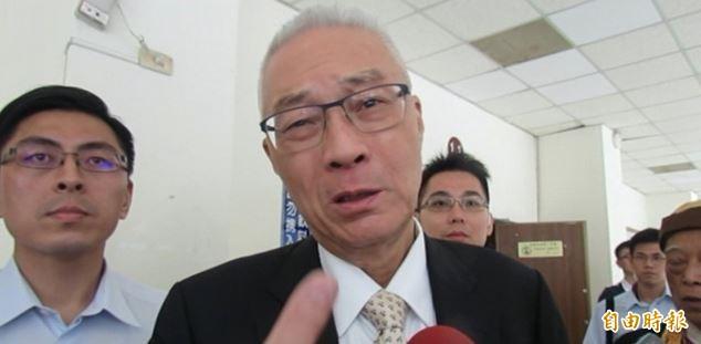 吳敦義在中常會調侃蘇揆的言論,被民進黨主席卓榮泰砲轟「是沒事幹了嗎?」。(資料照)