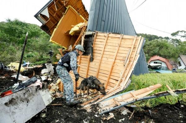 北海道強震釀嚴重災情。(歐新社)