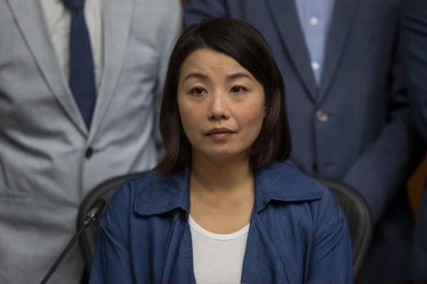 本土派議員劉小麗因慢速宣讀誓詞也遭判無效,至今尚未成功宣誓。(資料照,歐新社)