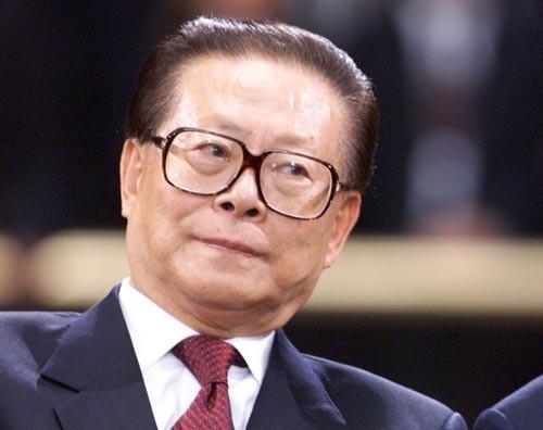 中共前領導人江澤民再被傳身體健康欠佳。(圖擷取自網路維基百科)
