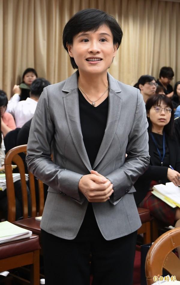 郑丽君表态不再续任文化部长。(资料照)