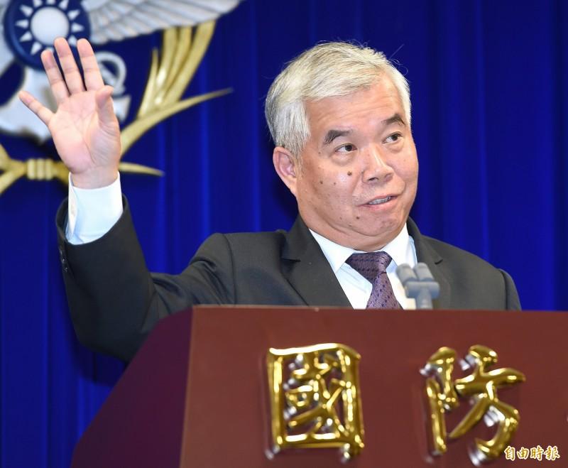 國防部戰略規劃司長吳寶琨表示,最快2023年才可能交付我方第一批戰機。(資料照)