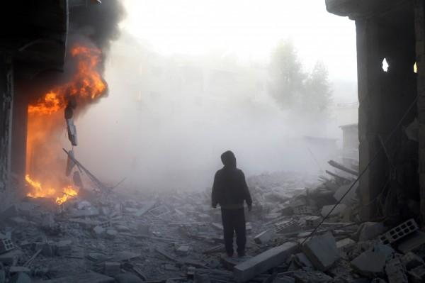 近日敘利亞政策研究中心公布數據指出,敘利亞內戰已造成至少47萬人喪生,以及190萬人受傷。(法新社)