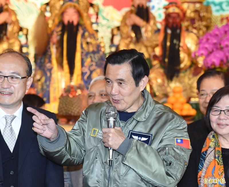 對於退休高階將領或政務官赴中國的管理規範,行政院在2017年7月提出「兩岸人民關係條例」修法,由於前總統馬英九列管期即將屆滿,若這項修法在今年520前通過的話,馬英九將適用。(資料照)