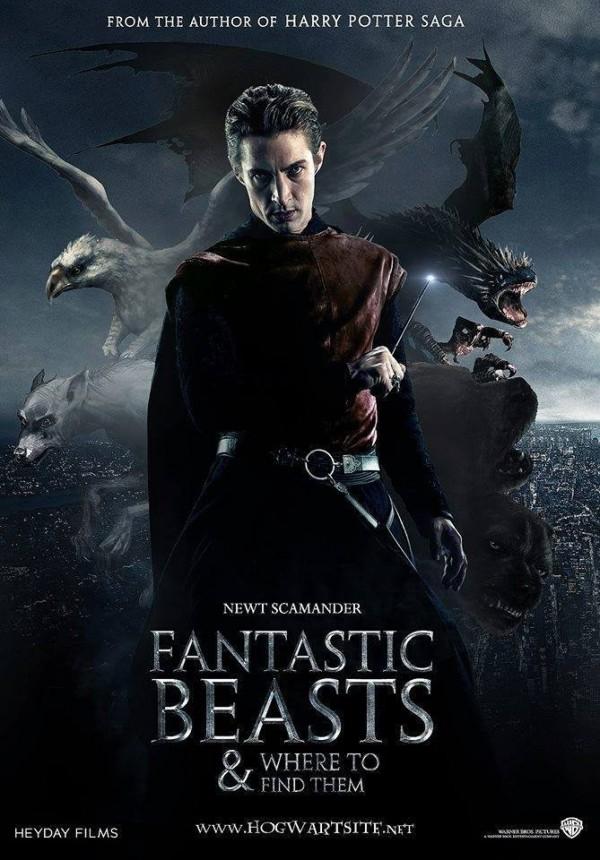 哈利波特外傳第一部電影《怪獸與牠們的產地》即將於年底上映,JK羅琳也在近日於網路連載相關故事《北美魔法史》。(圖擷自IMDb網站)