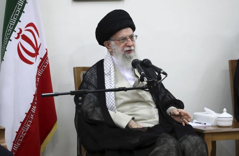 伊朗最高精神領袖哈米尼(Ayatollah Ali Khamenei)。(美聯社資料照)
