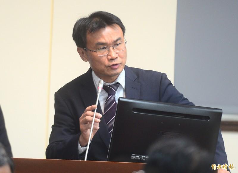 立法院經濟委員會,邀請農委會主委陳吉仲做業務報告並備詢。(記者王藝菘攝)