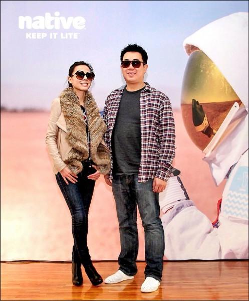 39歲河馬生活公司負責人江平暐(右)與女友、37歲河馬時尚總監鄭宜欣(左),車禍雙亡。(取自網路,記者鄭景議翻攝)