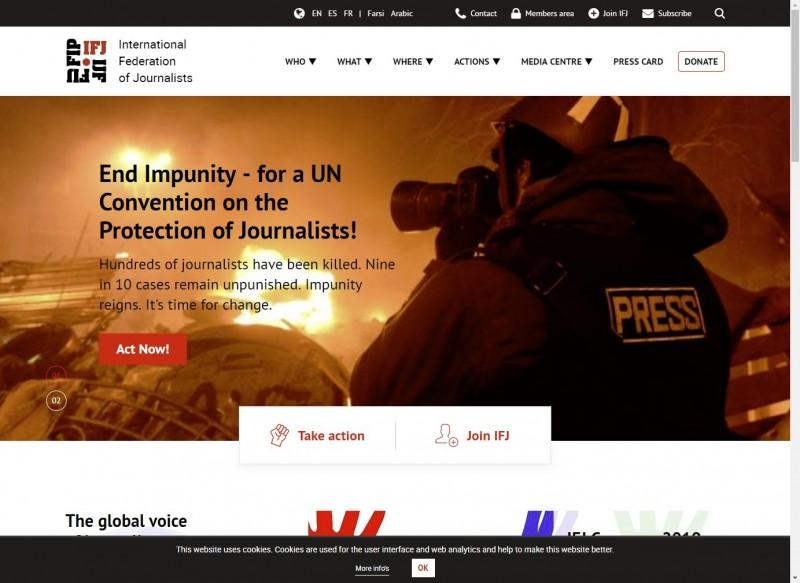 IFJ世界代表大會決議 要求聯合國終止排除台記者