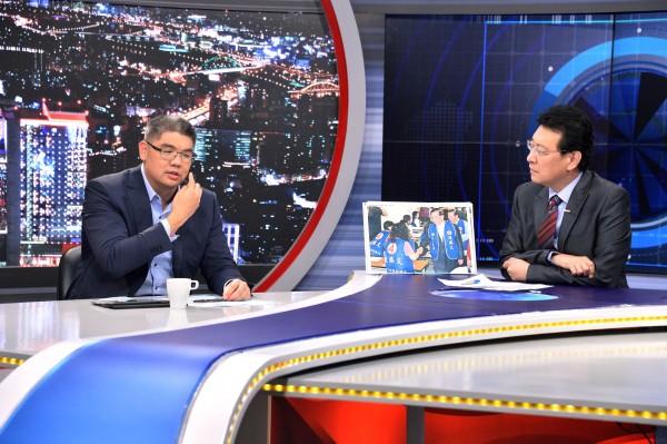 連勝文3日才上趙少康的節目解釋自己非靠爸族,將自己定位在第二代政治家,立刻被沈富雄打臉。(資料照,記者盧姮倩攝)