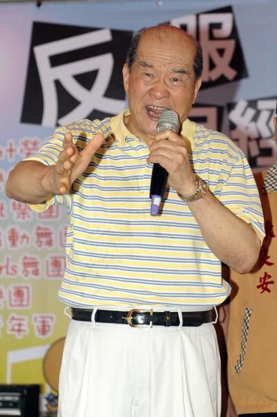 台聯主席黃昆輝反問中國國台辦,是否敢讓13億中國人民決定領導人。(資料照,記者陳志曲攝)