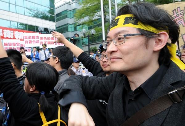 長期關心社會政治議題的「妖西」劉敬文,今在臉書表示將成立台獨推動組織。(資料照,記者宋志雄攝)