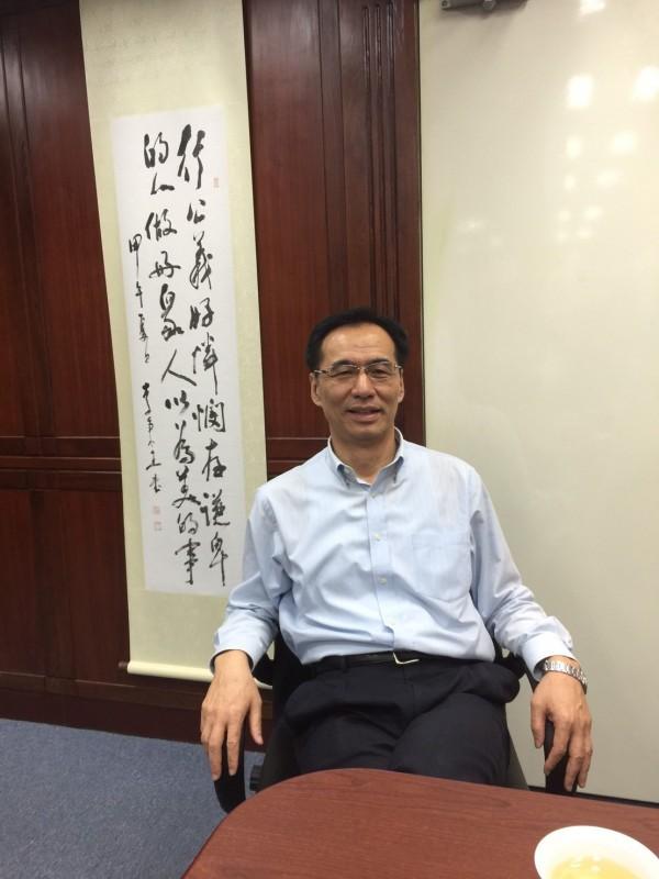 國民黨新任秘書長莫天虎。(移民署提供)
