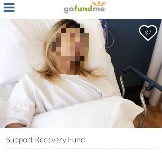一名在澳洲打黑工的王姓男子日前因工安意外手部受傷,為籌醫療費用他上集資平台募款,遭網友質疑詐財。(擷取自集資平台《gofundme》)