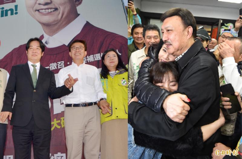 民進黨在這次4席立委補選拿下新北市第3選區與台南第2選區,成功守住原有的立委席次。(記者吳俊鋒攝,記者劉信德攝,合成圖)