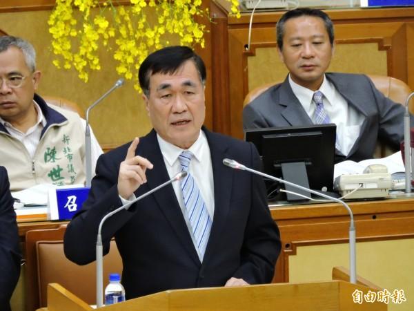 李四川昨又被拱選新北市長。(資料照,記者何玉華攝)