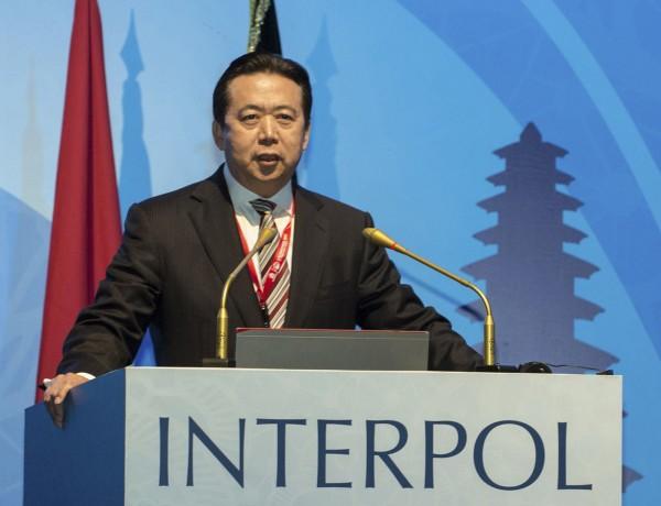 前國際刑警組織主席孟宏偉日前「被失蹤」,遭中國調查,引起國際社會關注。(美聯社資料照)