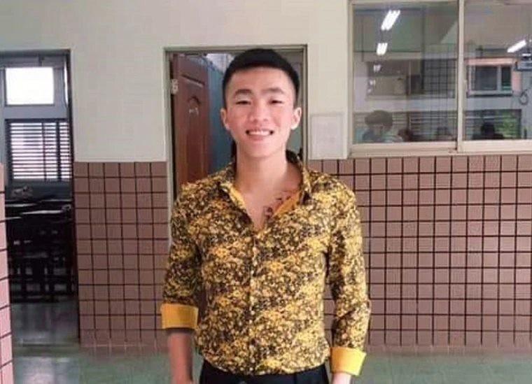 明新科大的越南籍范姓學生(見圖)不幸意外身亡,父親自越南抵台陪伴最後一段時光,也簽下眼角膜捐贈同意書,遺愛台灣。(圖擷取自臉書_Taiwan in Vietnam)