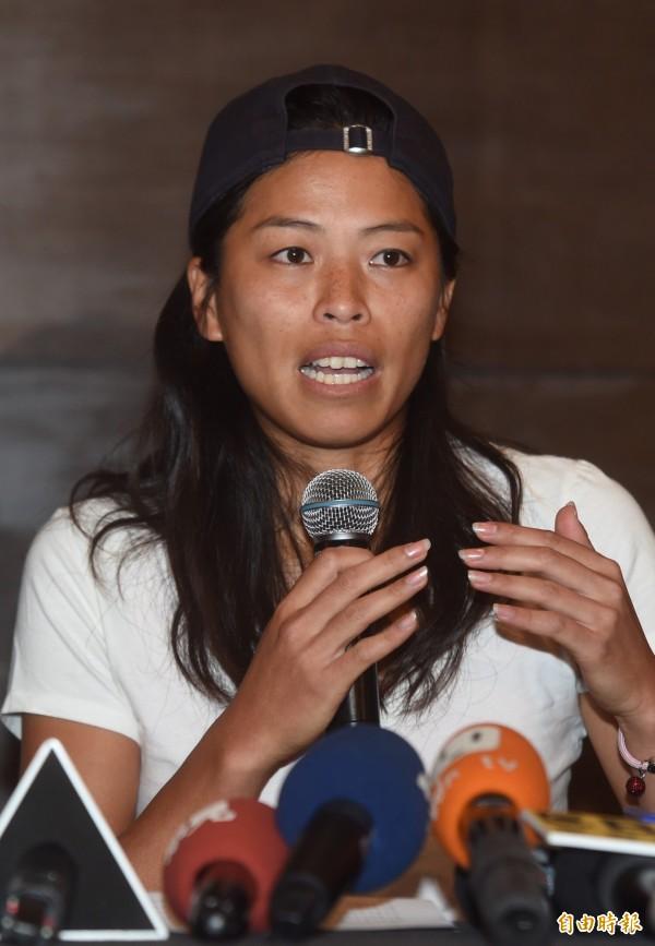 網球女將謝淑薇。(資料照,記者簡榮豐攝)