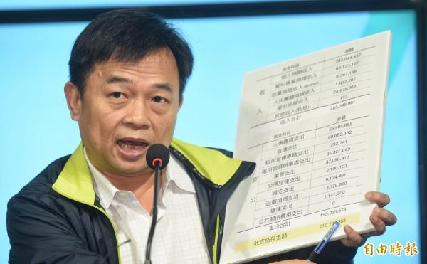 蔡英文競選總幹事林錫耀。(資料照,記者劉信德攝)